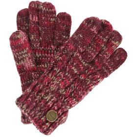 Regatta Frosty II Rękawiczki Kobiety, burgundy